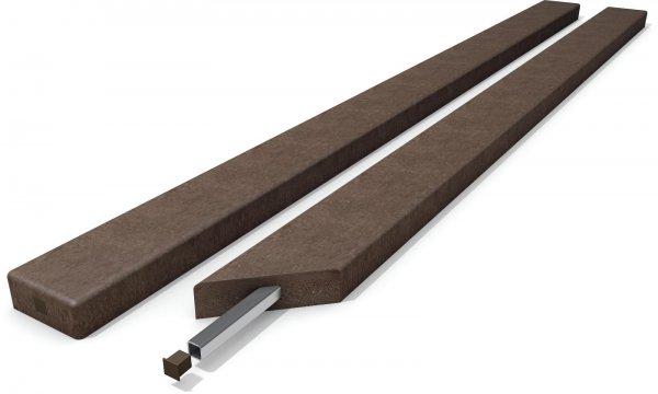 Kunststoff Bankbohlen Premium Stärke 4,7 cm