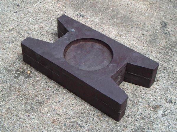 Kunststoff-Kunststoff Bodenanker Standard