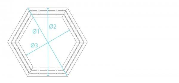 Kunststoff-Kunststoff Rundbank Roncade ohne Lehne