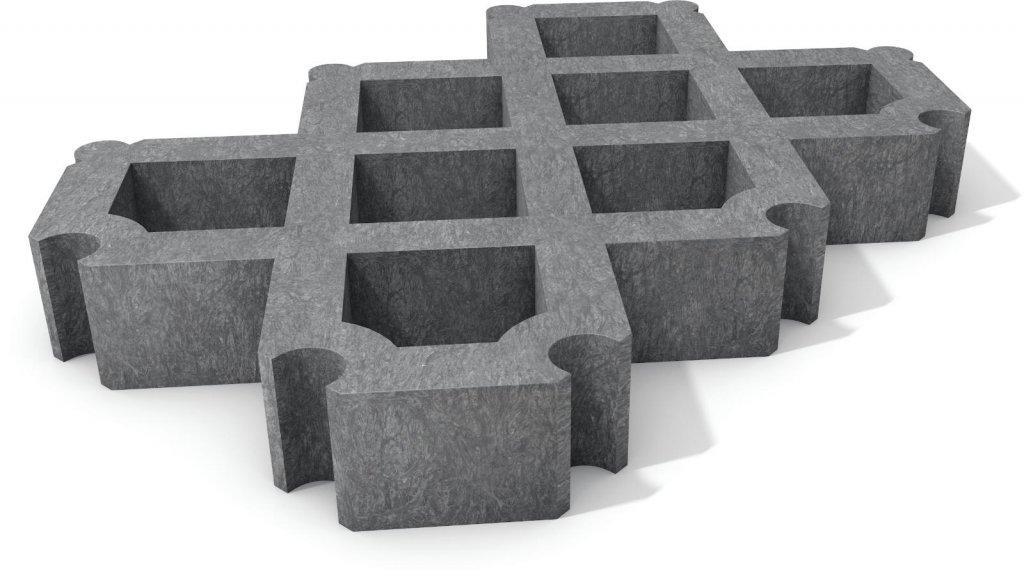 Hervorragend Kunststoff Rasengitterstein - Die Rasengittersteine aus Kunststoff HH71