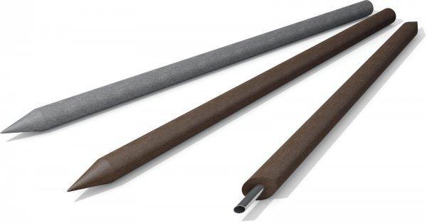 Kunststoff-Kunststoffpfähle Koppelpfosten / Zaunpfosten mit Spitze