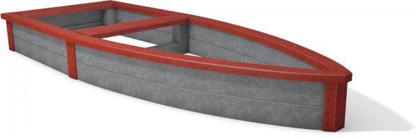 Kunststoff-Kunststoff Sandkasten Lut