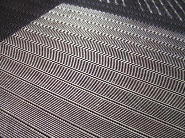 Kunststoff Terrassendiele