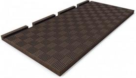 Kunststoff Geländeplatte
