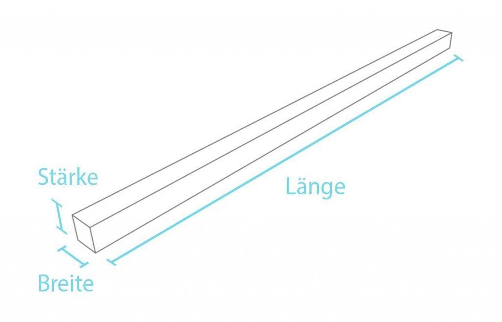 Kunststoff-Kunststoff Vierkantprofil ohne Spitze . 22a94adcf2